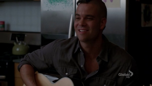 Puck and his guitar