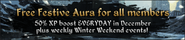 Festive Aura Notice