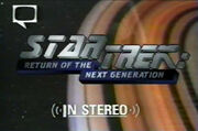 Star Trek Return of The Next Generation