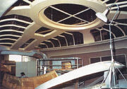 Enterprise-D bridge under construction
