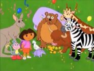 Dora, Boots and the animals