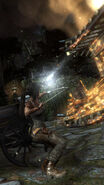 Tomb Raider Screenshot MountainClimb Sniper