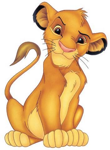 Lion King Cartoon Simba