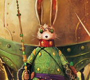Bunnymund in the books