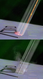 Borg cutting beam
