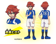 Hiroto in Inazuma Legend Japan