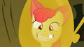 Apple Bloom smiling that her tooth is back S2E6.png