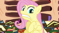 Fluttershy extremely nervous S3E05