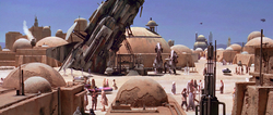 Mos Eisley spaceship