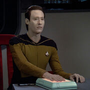 Data takes the stand