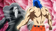 Toriko taking Mixer Punch