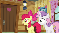 Apple Bloom &#39;Applejack and I are supposed to be campin&#39; up&#39; S3E06