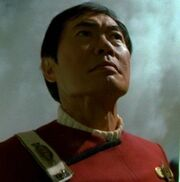 Sulu in Tuvok's memory