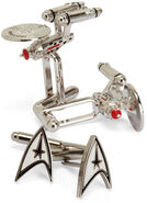 ThinkGeek Star Trek cufflinks