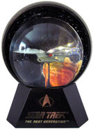 Willitts Designs USS Enterprise-D Lighted Star Globe