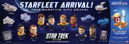 Burger King Star Trek toys
