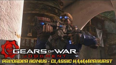 Gears of War Judgment - Preorder Bonus Classic Hammerburst