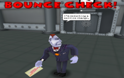 Bounce check toontown wiki for Toontown fishing guide