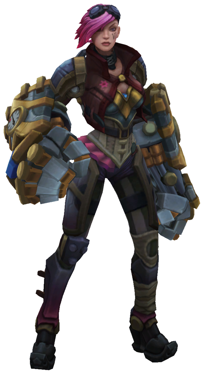 Vi Render pngOfficer Vi League Of Legends