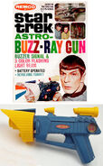 Remco Star Trek Astro-Buzz-Ray Gun