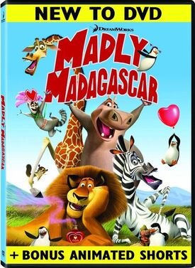 Madly Madagascar (DVD Cover)