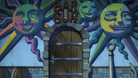 Sun Bar&#39;s entrance