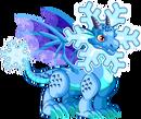 Dragón Copo de Nieve Fase 2
