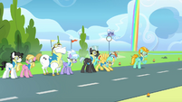 Pegasi before flag hunt S3E7