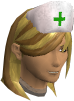 Nurse hat chathead