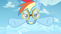 Rainbow Dash giving in S3E7