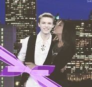 Zendaya coleman kenton duty kiss