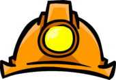Miners Helmet clothing icon ID 429
