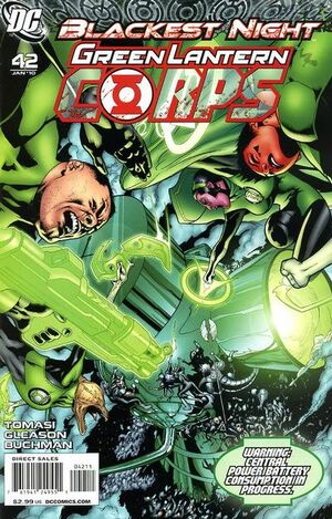 Cover for Green Lantern Corps #42