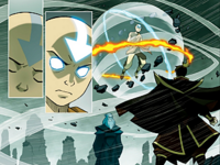 Aang and Zuko dream