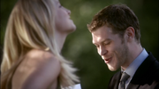 Klaus and caroline laughing together
