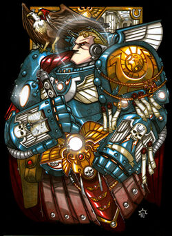 Roboute Guilliman Aerion the Faithful