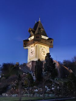 Graz - Uhrenturm6
