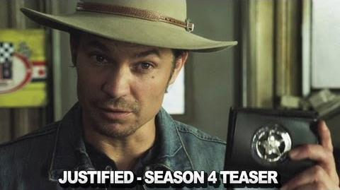 Justified - Season 4 Teaser