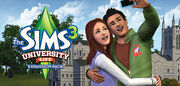 Sims 3 university life banner