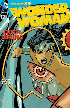 Cover for Wonder Woman #15