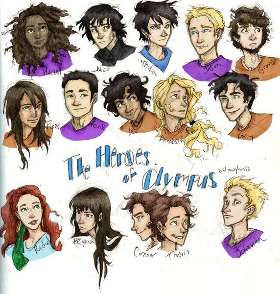 Percy Jackson Heroes of Olympus