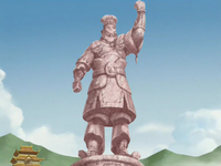 Chin&#39;s statue
