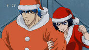 Toriko and Rin ready to go and deliver presents