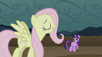 Flutterjerk pretending to laugh S02E02