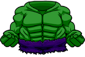 HULK BODYSUIT clothing icon ID 4632