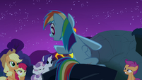 Rainbow Dash &#39;It gallops only at night&#39; S3E06