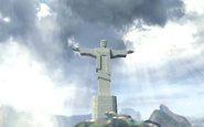 O cristo redentor statue