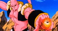 The Old Kai's Weapon - Super Buu goes for both