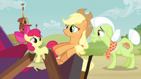 Applejack remember about S3E8