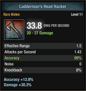 Ladderman's head hacker